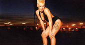 Music superstar P!nk is loving the family life