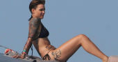 Ruby Rose and Jason Statham prepare to shoot new movie Meg
